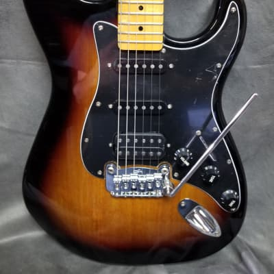 G&L Tribute Series Legacy HSS 3 Tone Sunburst for sale