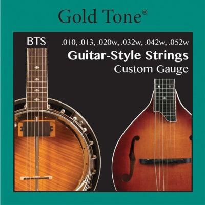 Gold Tone BTS Guitar-Style Strings - custom gauge  nickel wound - Folkternative BANJITAR