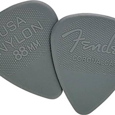 Fender Corona California Nylon Guitar Picks - .88mm, 12-Picks (1 Dozen) for sale