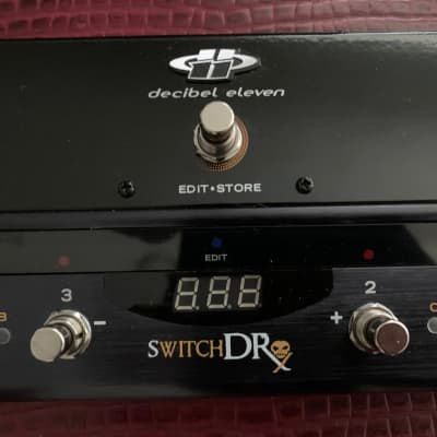 Decibel 11 Switch Dr. Pedal and Midi Switcher, w Midi Cable & free shipping!