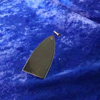 1980s Hamer Truss rod cover. black/white 2 ply