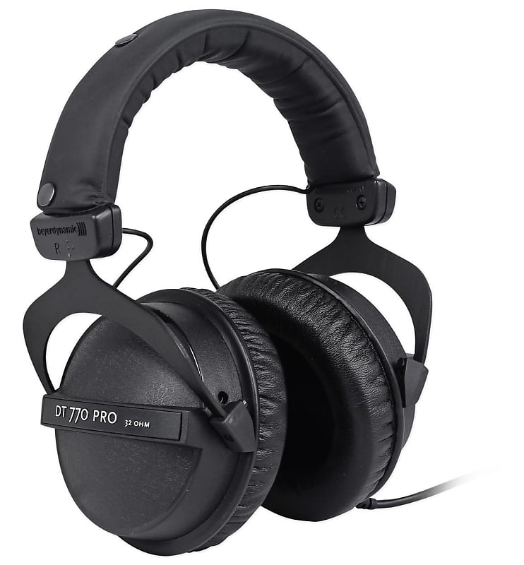 beyerdynamic dt 770 pro 32 ohm studio headphones for mobile reverb. Black Bedroom Furniture Sets. Home Design Ideas