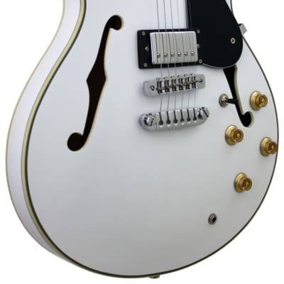 Aria TA-CLASSIC / White Hollowbody Electric Guitar New. for sale