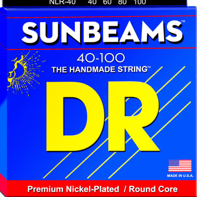 DR Strings NLR-40 Sunbeams Bass Lite 40-100