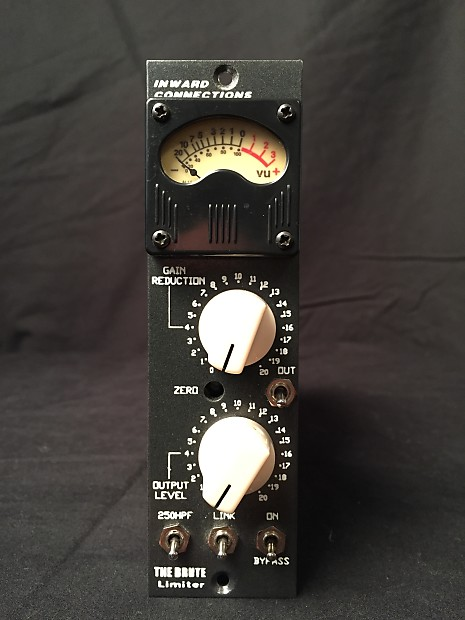 Inward Connections The Brute 500 Series Optical Compressor 2013