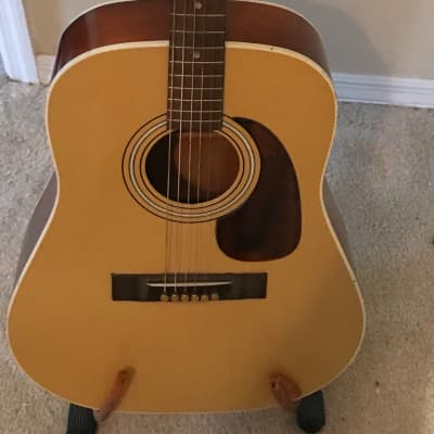 Regal Dreadnought Late 50's Natural for sale