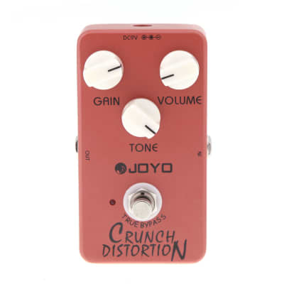 Joyo JF-03 Crunch Distortion Effect Pedal True Bupass