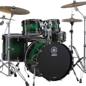 "Yamaha LC2F57 Live Custom 5-Piece Drum Set with 22"" Bass Drum and HW780 Hardware Pack"