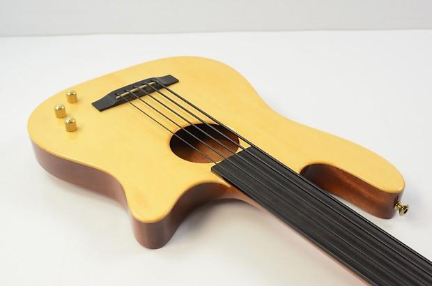 carvin ac 50 5 string fretless acoustic electric bass guitar reverb. Black Bedroom Furniture Sets. Home Design Ideas
