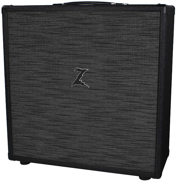 Dr Z 4x10 Speaker Cab Black W Z Wreck Grille Reverb