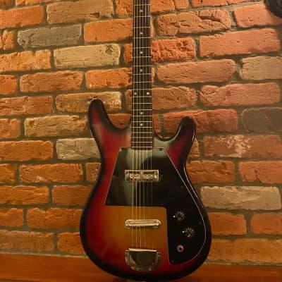 *** Very Rare Targa Made in Japan  Stratocaster style 1968 sunburst guitar for sale