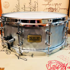 Tama SLP Vintage Hammered Steel Snare Drum 5.5x14