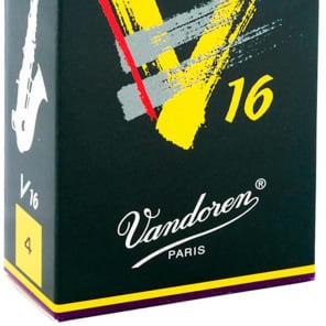 Vandoren SR704 V16 Alto Saxophone Reeds - Strength 4 (Box of 10)