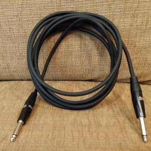 "Hosa HGTR-010 REAN 1/4"" TS Straight to Same Pro Guitar/Instrument Cable - 10'"