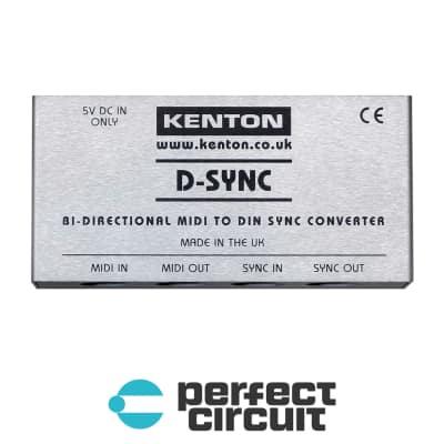 Kenton D-Sync Bi-Directional MIDI to DIN Sync Converter