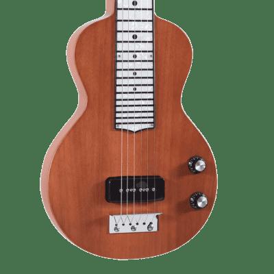 Recording King RG-31-NA Lap Steel Guitar Classic, Satin Natural Mahogany