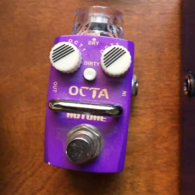 Hotone  Octa OCTAVER Octave Pedal Up Down Pog Like for sale