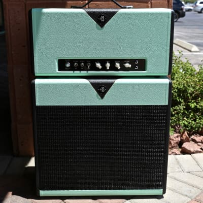 "Divided by 13 CCC 9/15 Head and matching 1x12"" Cabinet Pistachio/Black"