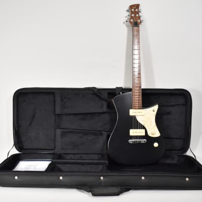 2016 Soultool Laguz The Junior P-90 Electric Guitar Black Finish w/OSSC for sale