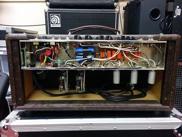 Historic George Alessandro hand rewired Bassman amplifier