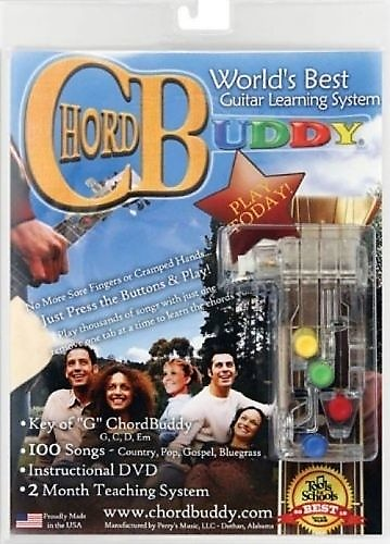 Chord Buddy System With Instructional Dvd 2 Month Teaching Reverb