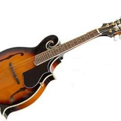 Crestwood M107 F-Style Tobacco Sunburst Mandolin - M107TSB for sale