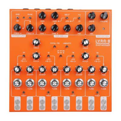 SOMA Laboratory Lyra-8 Organismic Drone Synth (Orange)