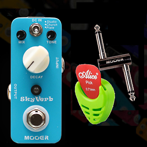 mooer audio skyverb reverb guitar effect pedal pc z jack reverb. Black Bedroom Furniture Sets. Home Design Ideas