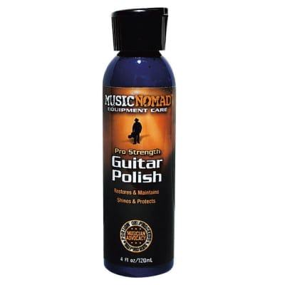 Music Nomad Premium Pro-Strength Guitar Polish, 4 oz.