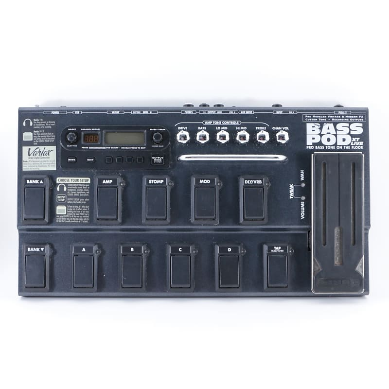 line 6 bass pod xt live guitar multi effects pedal p 08880 reverb. Black Bedroom Furniture Sets. Home Design Ideas