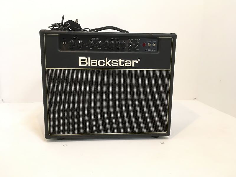 used blackstar ht club 40 combo tube guitar amp 40 watts reverb. Black Bedroom Furniture Sets. Home Design Ideas