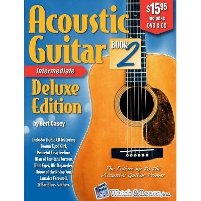 Acoustic Guitar Book 2 Deluxe Edition - Intermediate (w/ DVD, CDs, & Digital Access)