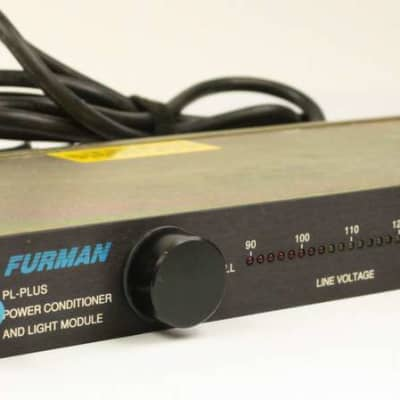 Furman PL-Plus Power Conditioner, 8 Grounded Outlets, Made in USA, VG #ISS7576