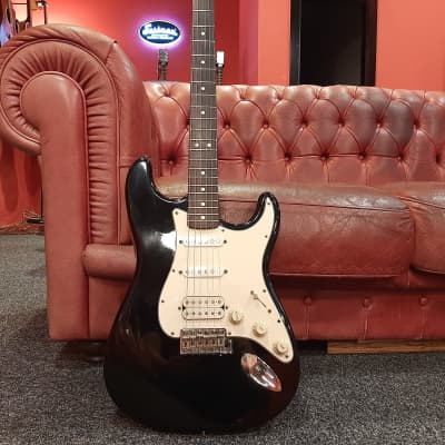 Fender California Fat Stratocaster with Rosewood Fretboard 1997 - Black for sale