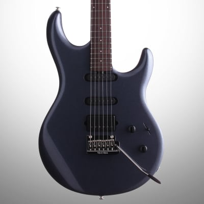 Ernie Ball Music Man Luke 3 HSS Steve Lukather Electric Guitar (with Case), Bodhi Blue