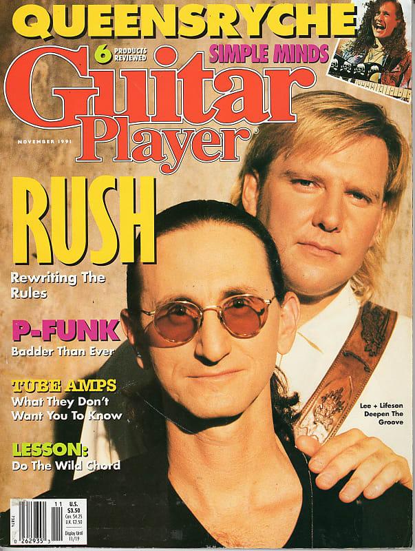 guitar player 1991 rush parliament funkadelic queensryche reverb. Black Bedroom Furniture Sets. Home Design Ideas