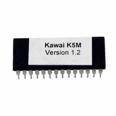 Kawai K5m version 1.2 firmware Latest OS Update Upgarde EPROM Vintage Synth Part