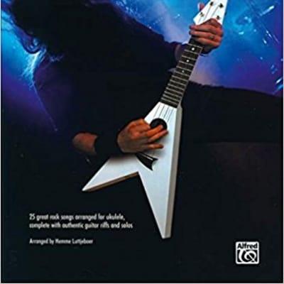 Hal Leonard Uke 'An Play Rock Ukulele Song Book