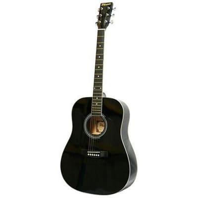 Phoenix 001 guitare acoustique folk noire for sale