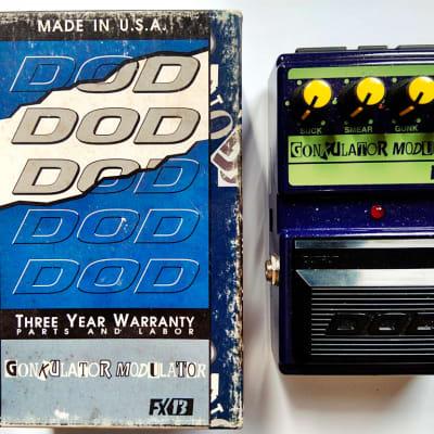 DOD FX13 FX-13 Gonkulator Modulator / Distortion Guitar Effect Pedal for sale