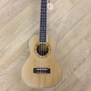 Freshman UKASHTE Ash Electro Tenor Ukulele with Gigbag for sale