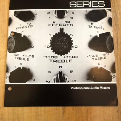 Vintage Tapco 6000 Series Catalog