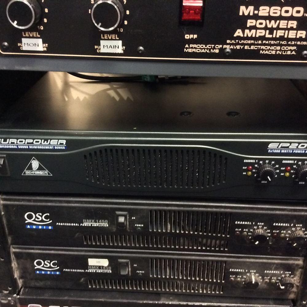 Behringer Europower EP2000 2000-Watt Stereo Power Amp | Reverb