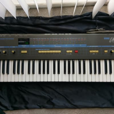 Korg Poly-61 and Flight Case