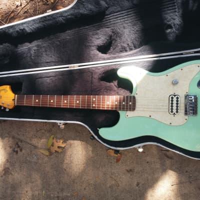 Fender Artist Series Tom Delonge Sea Foam Signature Stratocaster 2002 Bundle for sale