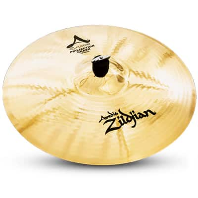 """Zildjian A20585 19"""" A Custom Projection Crash Drumset Cymbal with Low to Mid Pitch & Bright Sound"""