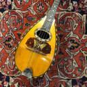 Vintage 1900's Oscar Schmidt Butterfly & Stars Inlay Bowlback Mandolin