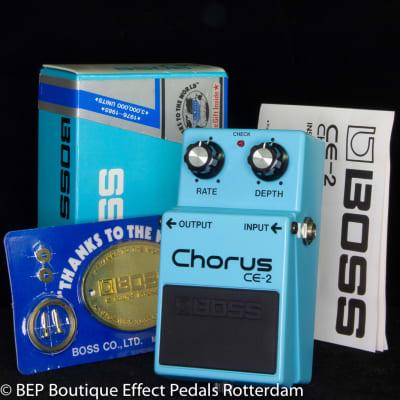 Boss CE-2 Chorus 1986 Japan s/n 627600 as used by Josh Klinghoffer, Johnny Marr, Jimmy Page