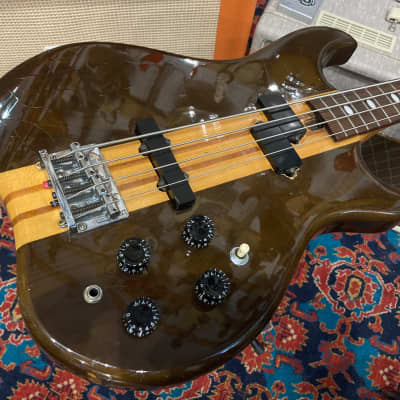 Morris Grand Bass 1977 Sunburst HS Anderson Tacoma NT neckthrought for sale