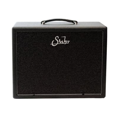 Suhr 1x12 Cabinet, Graphite tolex, Black/Silver Grill, Warehouse Veteran 30 speaker